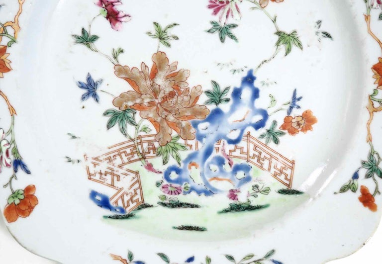 Chinese Plate, 18th Century For Sale 1