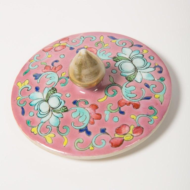 Chinese Porcelain Ginger Jar Famille Rose For Sale 6