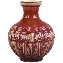 Chinese Porcelain Sang-de-boeuf Vase, circa 1800