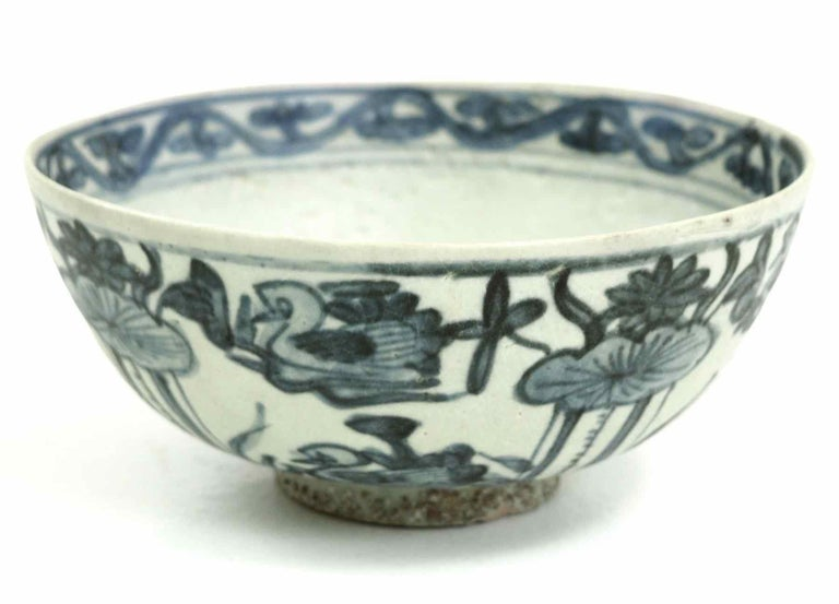 Chinese Porcelain, Shipwreck Founding, 17th Century In Good Condition For Sale In Aalsgaarde, DK