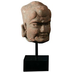 Chinese Pottery Head
