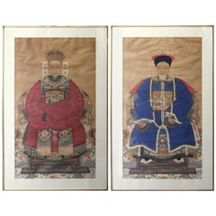Chinese Qing Ancestral Portraits