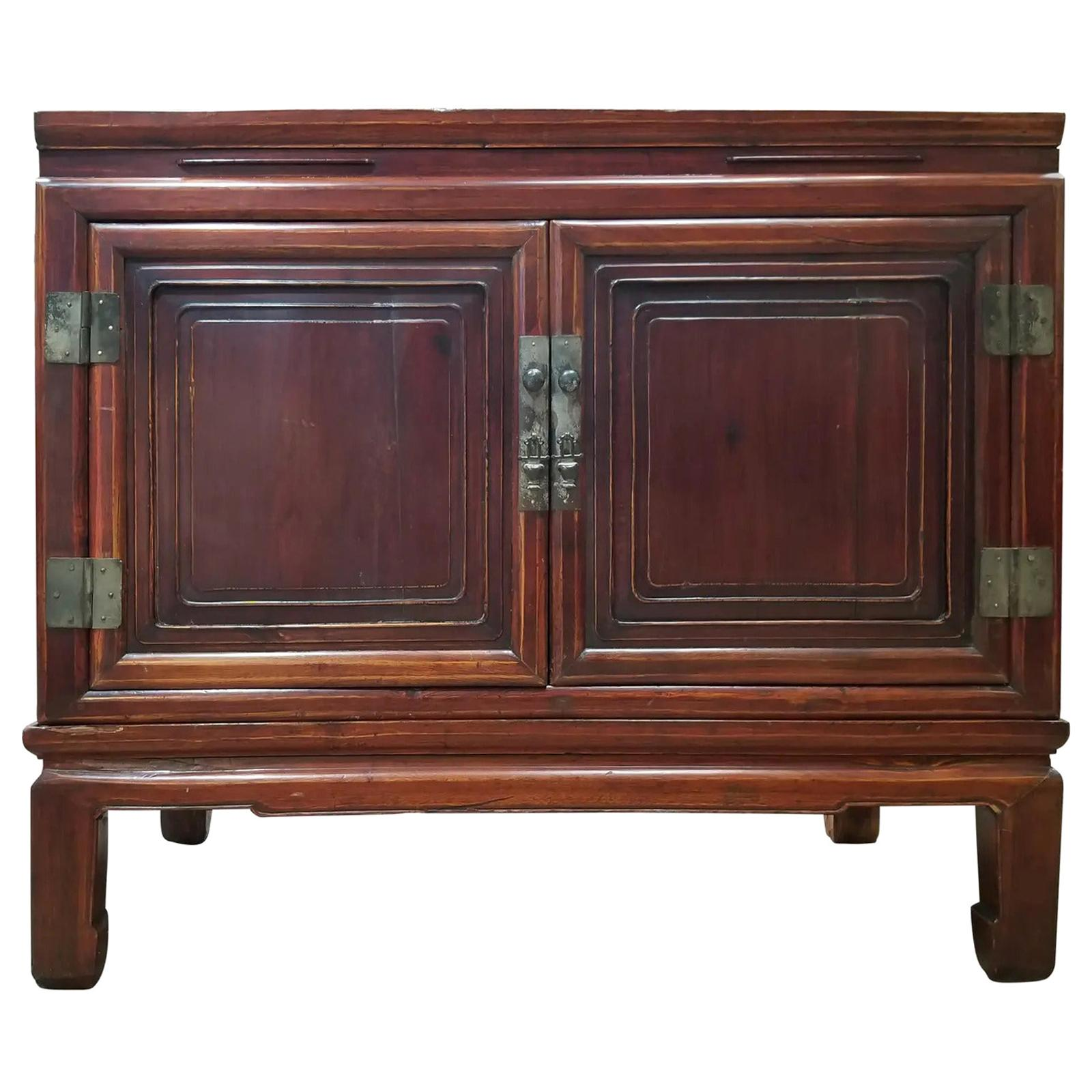 Chinese Qing Dynasty Storage Cabinet