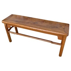 Chinese Rectangle Wooden Bench