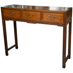 Chinese Rectangular Console Table Server Sofa Table
