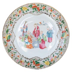 Chinese Rose Mandarin Plate