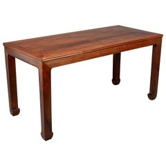 Chinese Rosewood Corner Leg Center Table