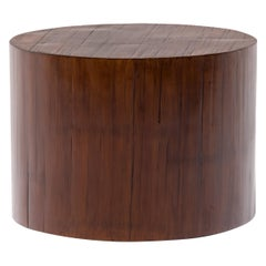 Chinese Round Crushed Bamboo Table