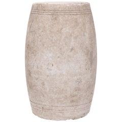 Chinese Shanxi Marble Drum
