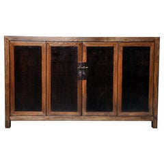Chinese Sideboard with a Pair of Bi-Fold Doors