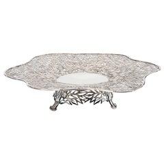 Chinese Silver Dish, circa 1900