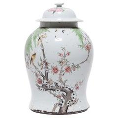 Chinese Springtime Baluster Jar, c. 1900