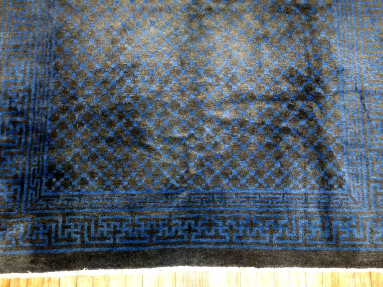 Chinese Square Peking Rug For Sale 1
