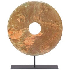 Chinese Stone Bi Disc