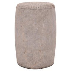 Chinese Studded Stone Drum Stool