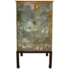 Chinese Style TV Cabinet on Stand
