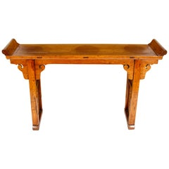 Chinese Style Wood Altar Table