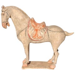 Chinese Tang Dynasty Terra-cotta Horse Figure TL Tested