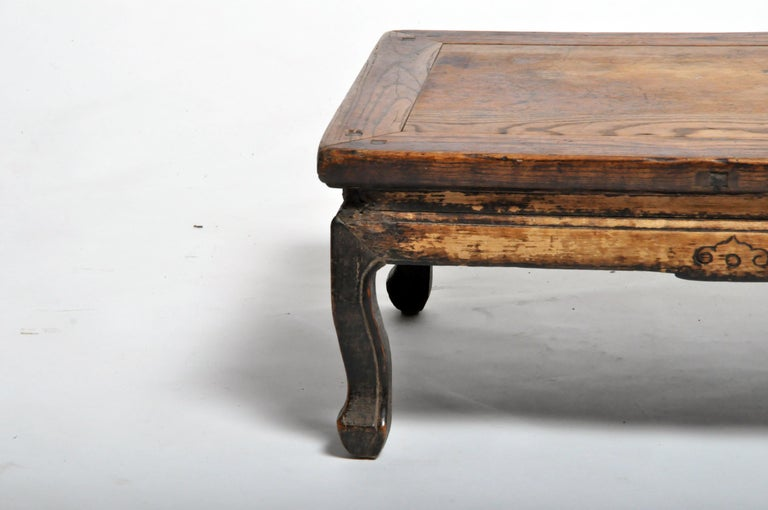 Elm Chinese Tea Table For Sale