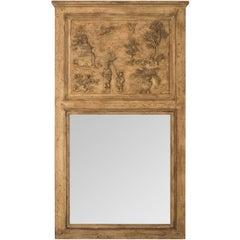 Chinese Trumeau Mirror, circa 1910