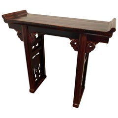 Chinese Two Legged Altar Table