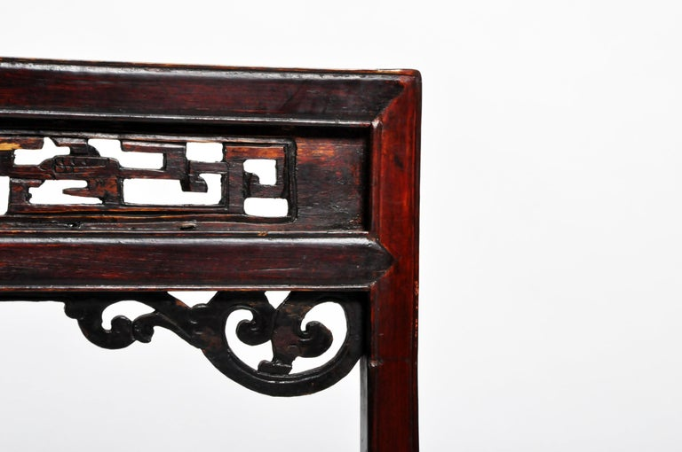Chinese Vanity Stand with Three Drawers For Sale 4