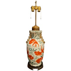 Chinese Vase as Lamp