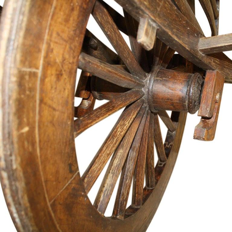 Wood Chinese Wheelbarrow, circa 1900 For Sale