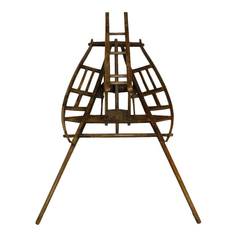 Chinese Wheelbarrow, circa 1900 For Sale 1