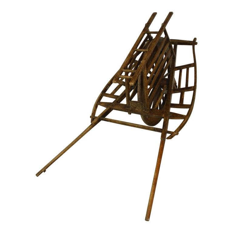 Chinese Wheelbarrow, circa 1900 For Sale 2
