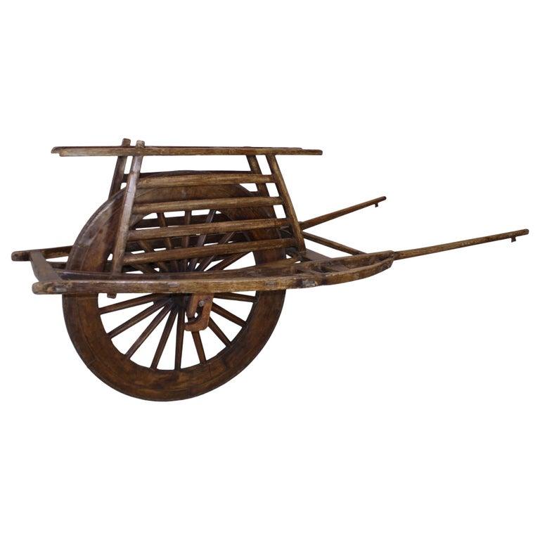 Chinese Wheelbarrow, circa 1900 For Sale