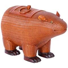 Chinese Wicker Capybara Animal