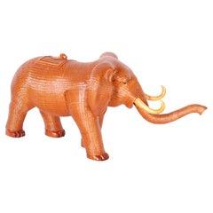 Chinese Wicker Elephant