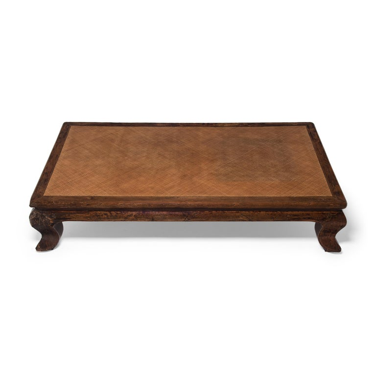 Chinese Woven Top Daybed, c. 1850 In Good Condition For Sale In Chicago, IL