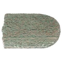 Chinese Zhenzhu Meditation Stone Slab