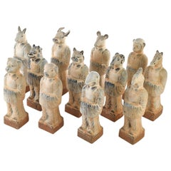Chinese Zodiac Animal Figurines