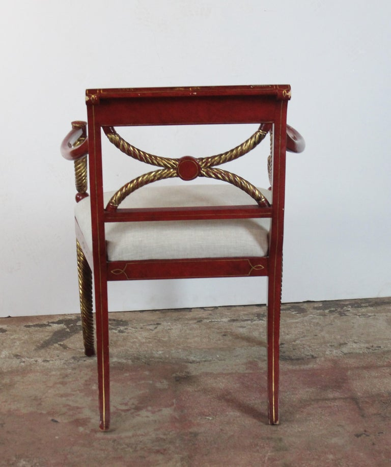 Chinoiserie Accent Chair 10