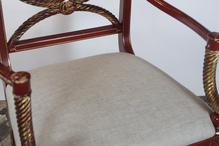 Chinoiserie Accent Chair 4
