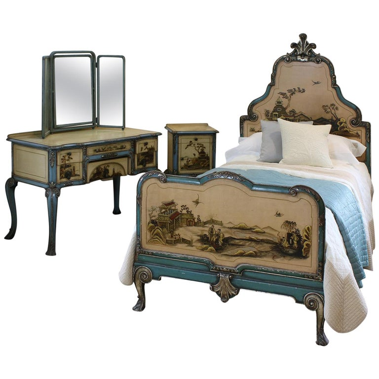 Chinoiserie Bedroom Suite, WS10 For Sale At 1stdibs