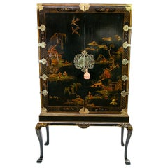 Chinoiserie Cabinet on Legs