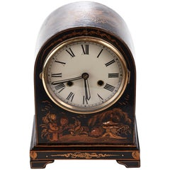 Chinoiserie Cased Dome Topped Mantel Clock, circa 1920