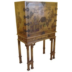 Chinoiserie Chest on Stand