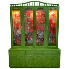 Chinoiserie China Cabinet by Thomasville