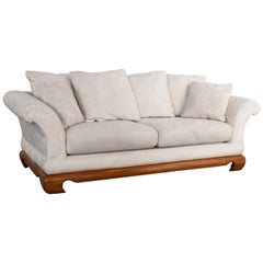 Chinoiserie Chow Leg Ming Style Sofa by Schnadig International Furniture