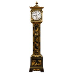 Chinoiserie Decorated Westminster Chiming Grandmother Clock