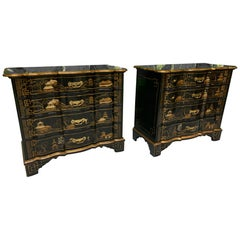 Chinoiserie Dutch Chests by Baker Furniture