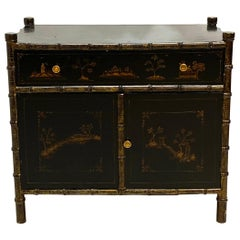 Chinoiserie Faux Bamboo Stand