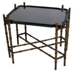 Chinoiserie Faux Bamboo Tray Table by Baker Furniture