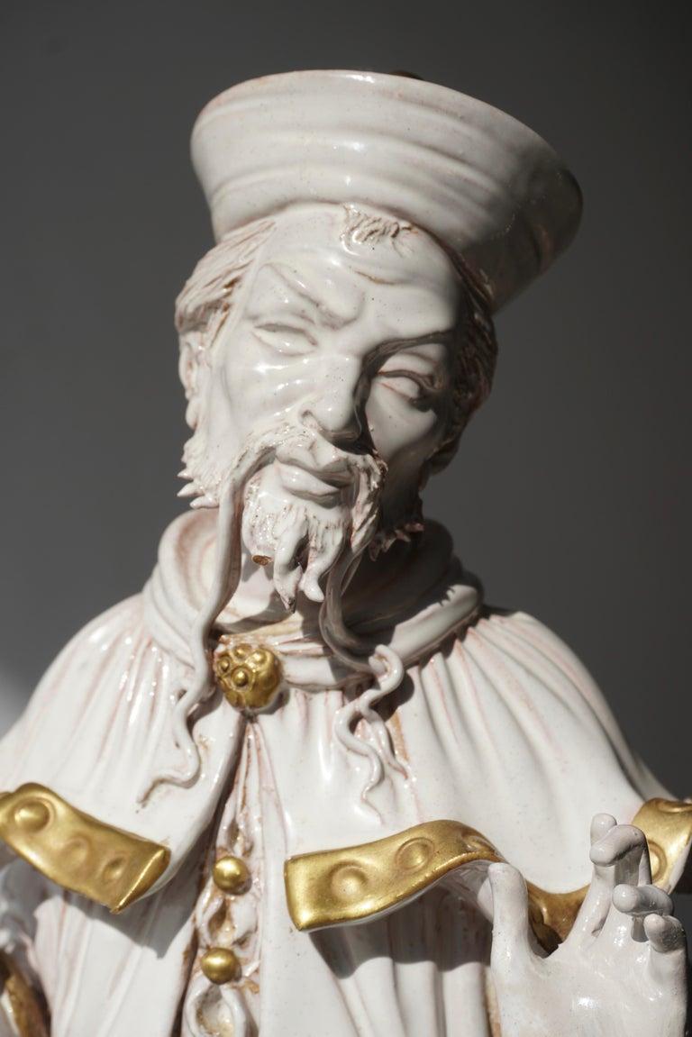 Italian Porcelain Figure by Batiguani For Sale 8