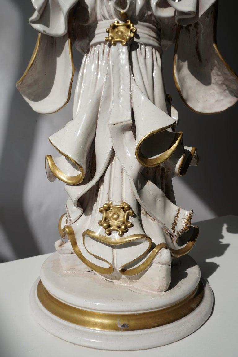 Italian Porcelain Figure by Batiguani For Sale 11